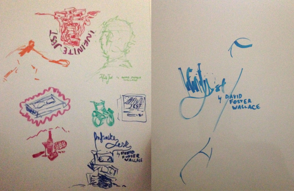 whiteboard sketches